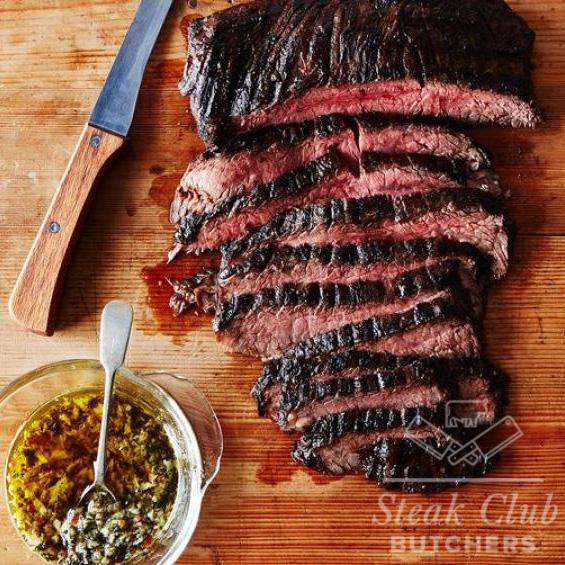 Skirt Steak Sliced