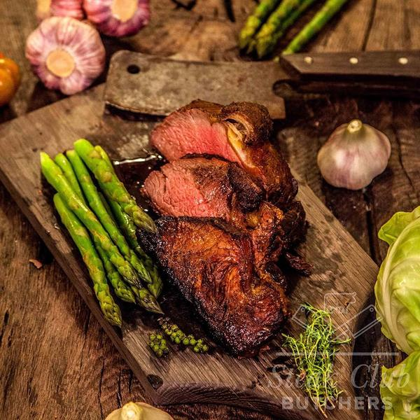 Striploin Roast | Sliced